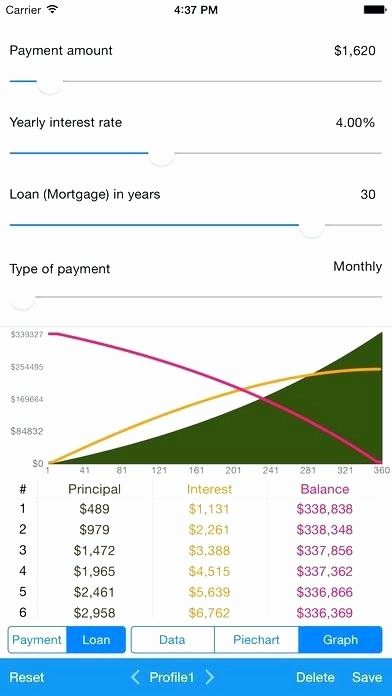 Calculate Monthly Mortgage Payment Excel New Fixed Principal Loan Payment Calculator – Obconline