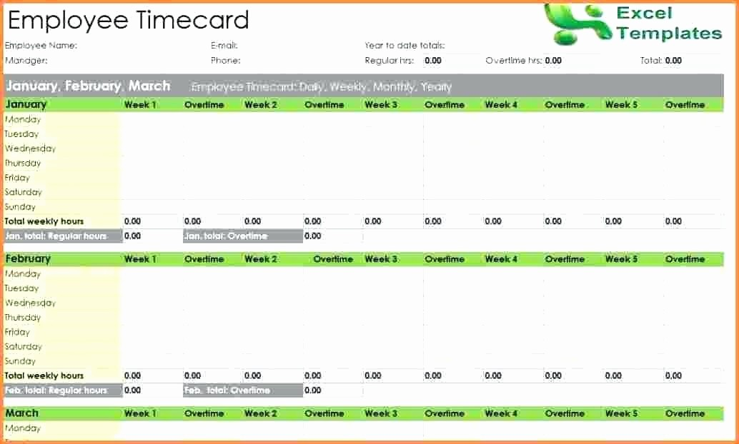 Calculate Time Card In Excel Elegant Time Card Excel Excel Time Card Template Time Card