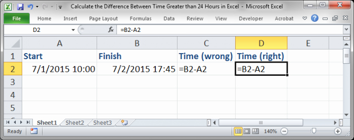 Calculate Time Card In Excel Luxury 24 Hour Time Calculation In Excel How to Calculate Time