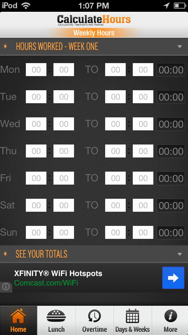 Calculate Time Card In Excel Unique App Shopper Time Card Calculator Timeclock Productivity