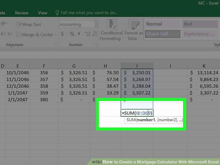 Calculating Mortgage Payment In Excel Awesome 3 Ways to Create A Mortgage Calculator with Microsoft Excel