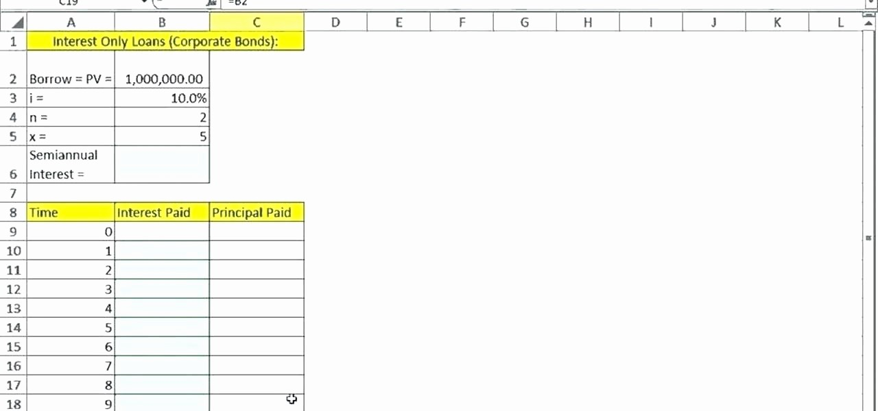 Calculating Mortgage Payment In Excel Unique Variable Rate Mortgage Calculator Excel Simple Loan