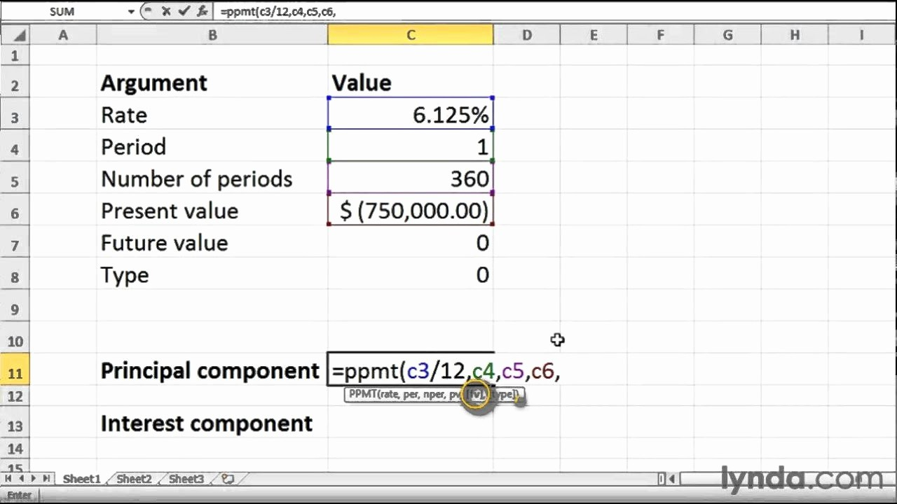 Calculating Mortgage Payments In Excel Awesome How to Calculate Loan Payments In Excel