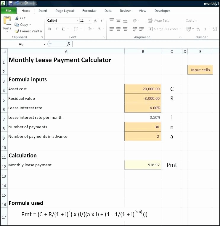 Calculating Mortgage Payments In Excel Beautiful Excel Payment Calculator T Loan Calculator Excel