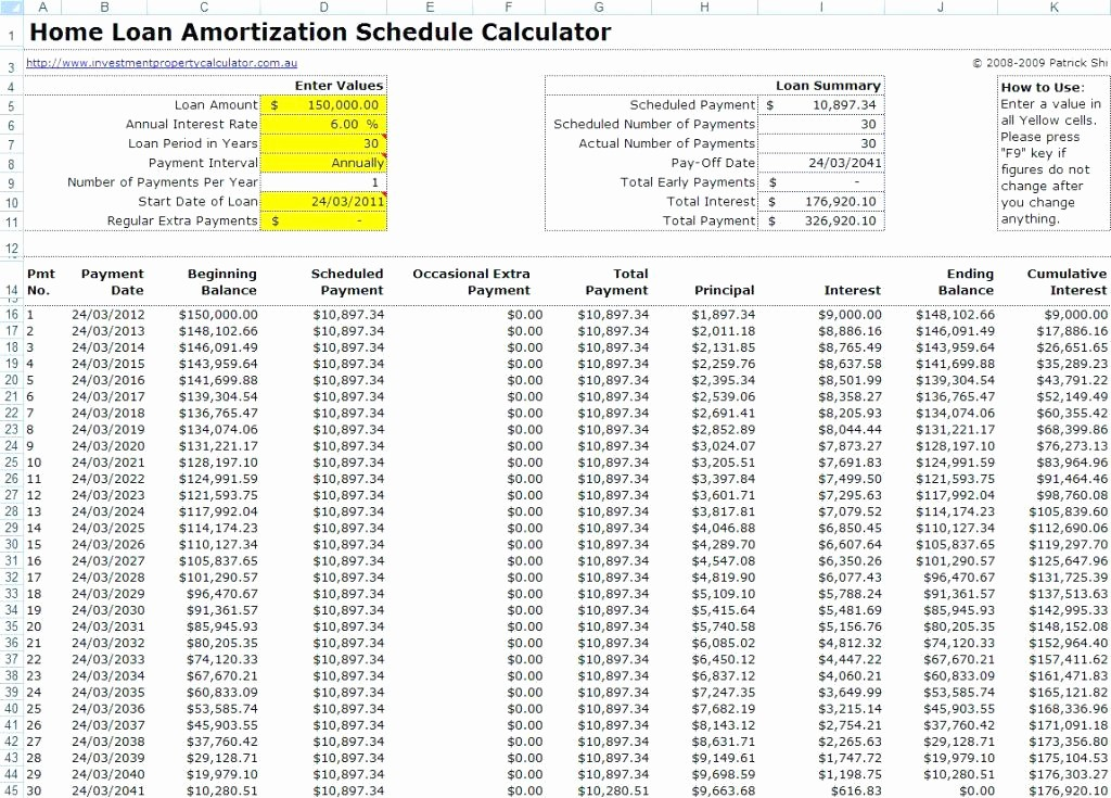 Calculating Mortgage Payments In Excel Luxury Excel Sheet to Calculate Mortgage Payments – Ooojo