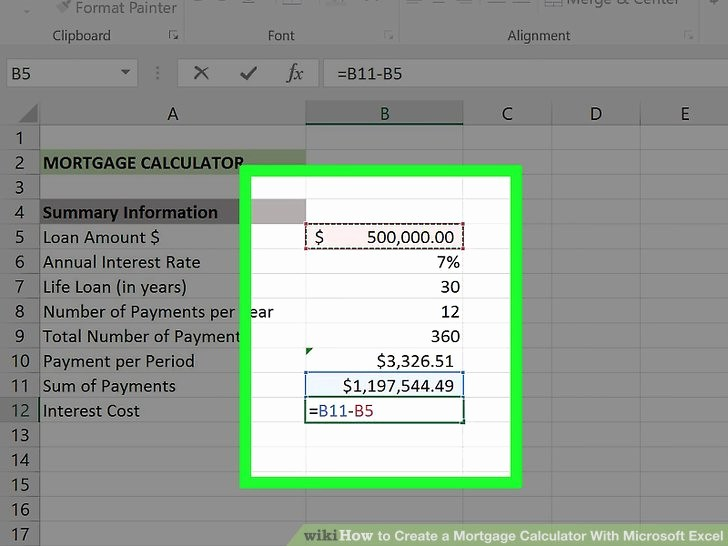 Calculating Mortgage Payments In Excel Unique Calculating Mortgage Payments In Excel thevillas