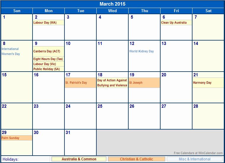 Calendar 2015 Printable with Holidays Fresh 2015 Calendar with Holidays Printable
