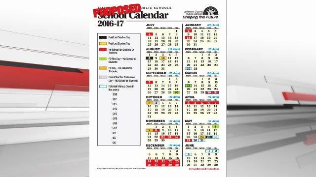 Calendar 2016-17 Template Inspirational Jcps School Board Approves 2016 17 Calendar Wdrb 41
