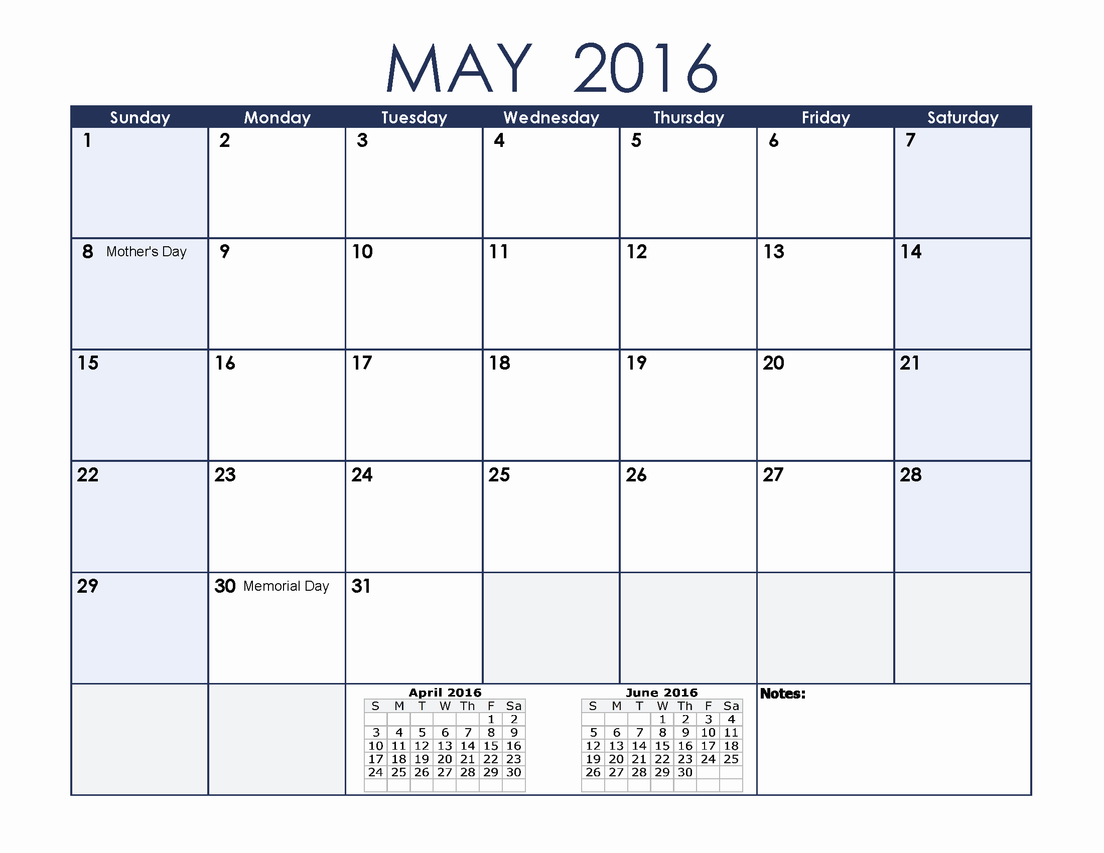 Calendar 2016 Printable with Holidays Best Of May 2016 Calendar with Holidays[usa Uk Canada