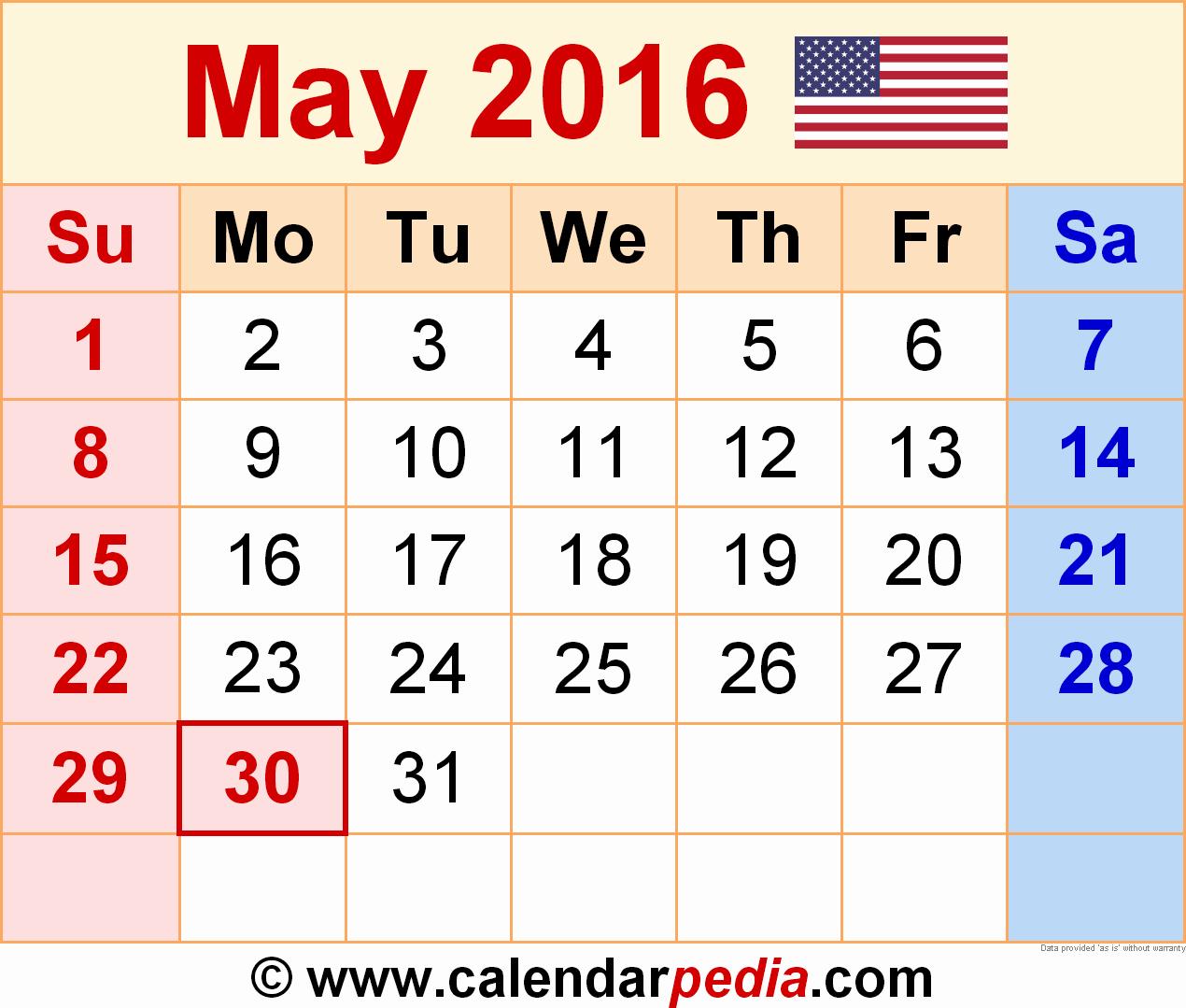 Calendar 2016 Printable with Holidays Inspirational January 2016 Calendar Holidays – 2017 Printable Calendar
