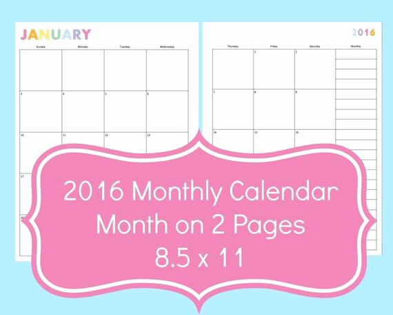 Calendar 2016 to Write On Beautiful 2015 Monthly Calendar Printable Line I Can Write