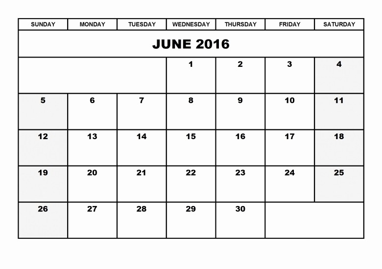 Calendar 2016 to Write On Fresh Blank 2016 Calendar to Write Free Calendar Template