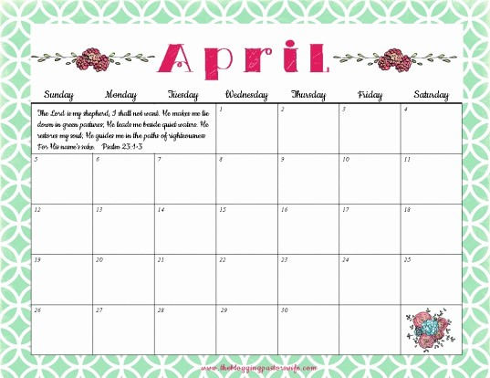 Calendar 2016 to Write On Unique Calendars by Month You Can Write In