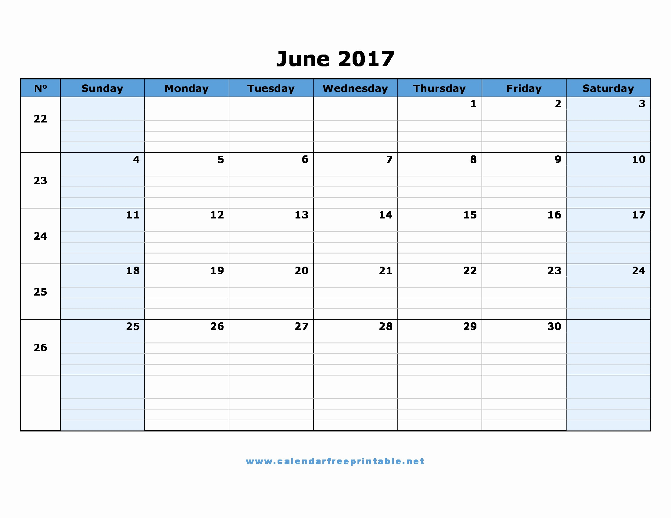 Calendar 2017 Monday to Sunday Beautiful Calendar Free Printable