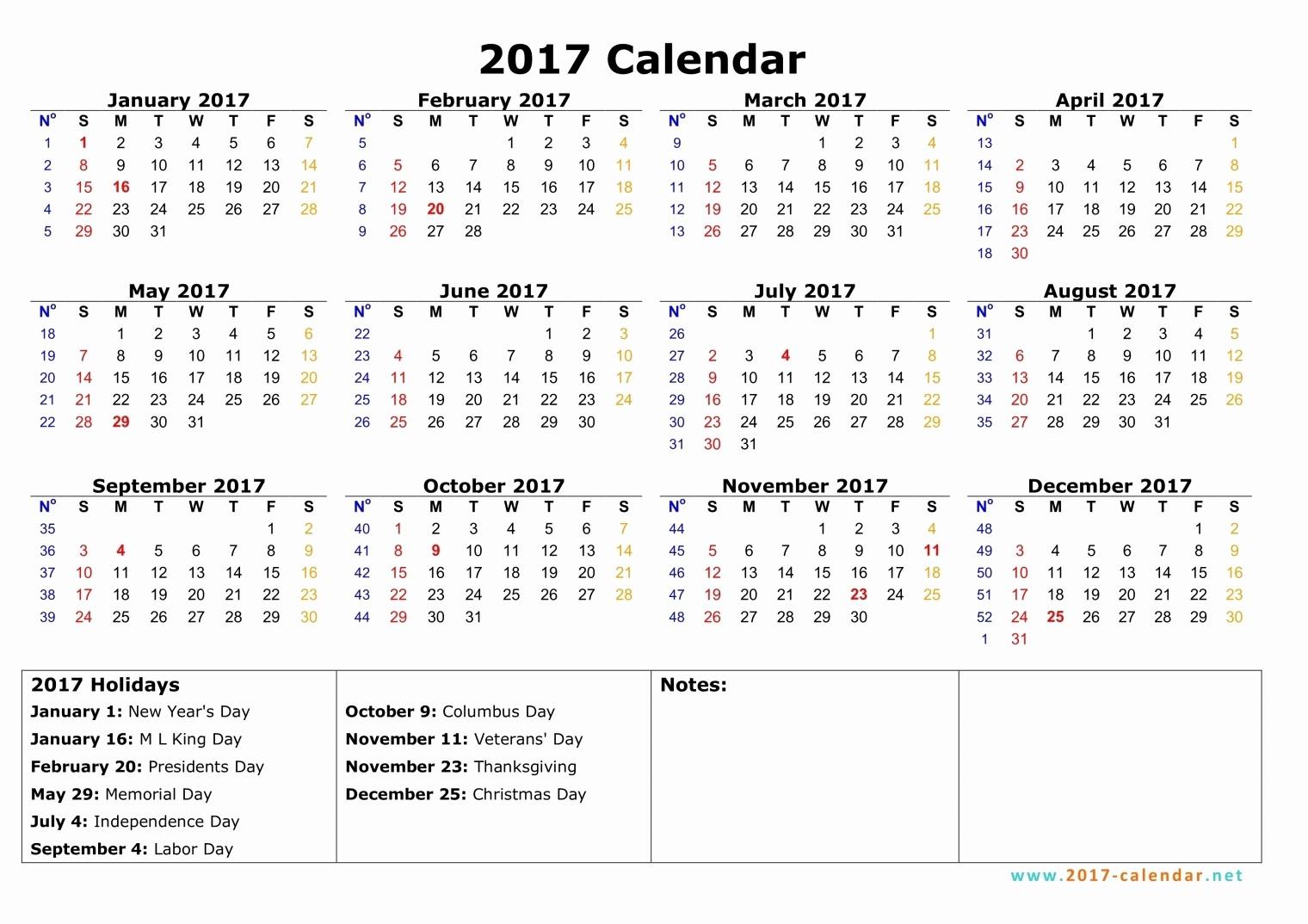 Calendar 2017 Monday to Sunday New Monday to Sunday Monthly Calendar 2017
