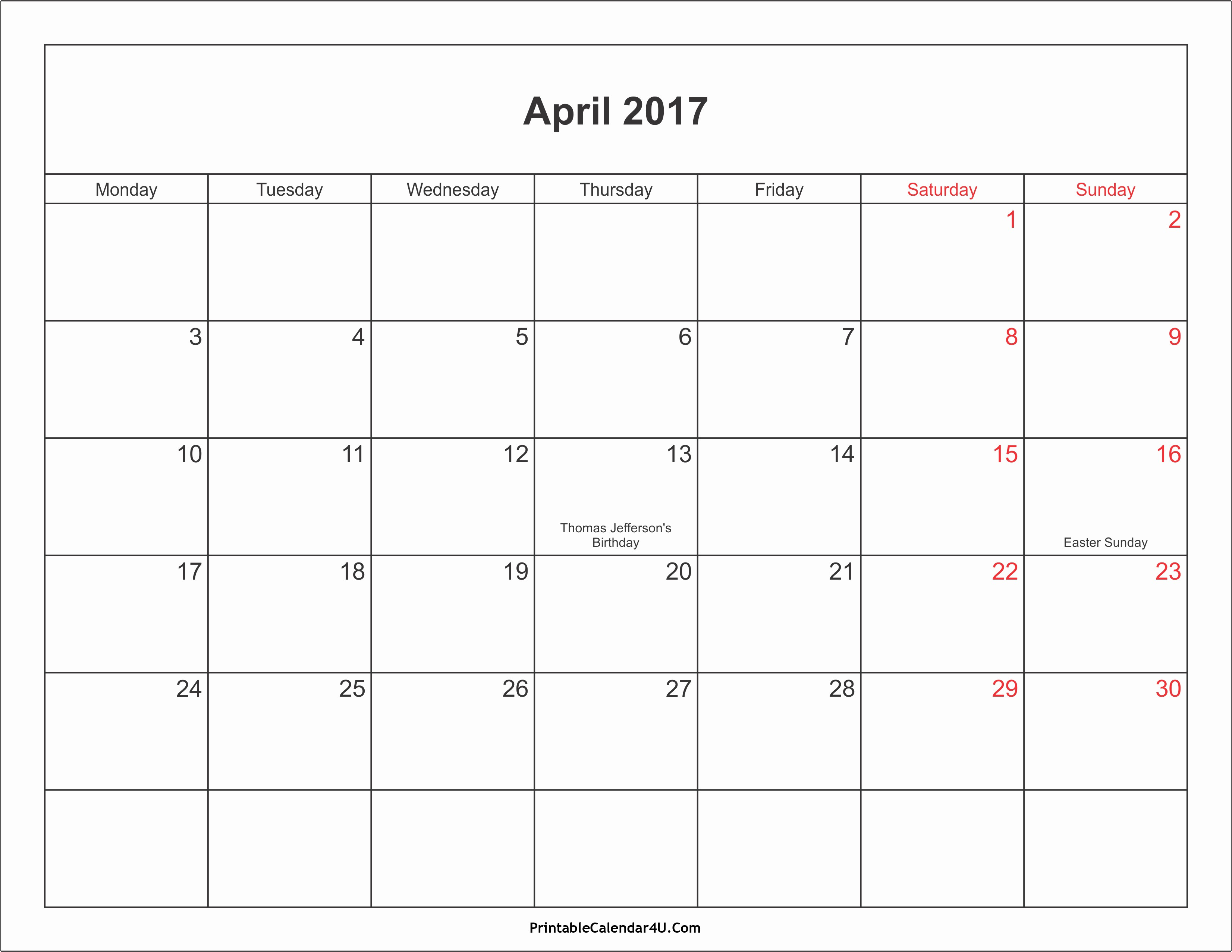 Calendar 2017 Template with Holidays Unique June 2017 Calendar Printable with Holidays
