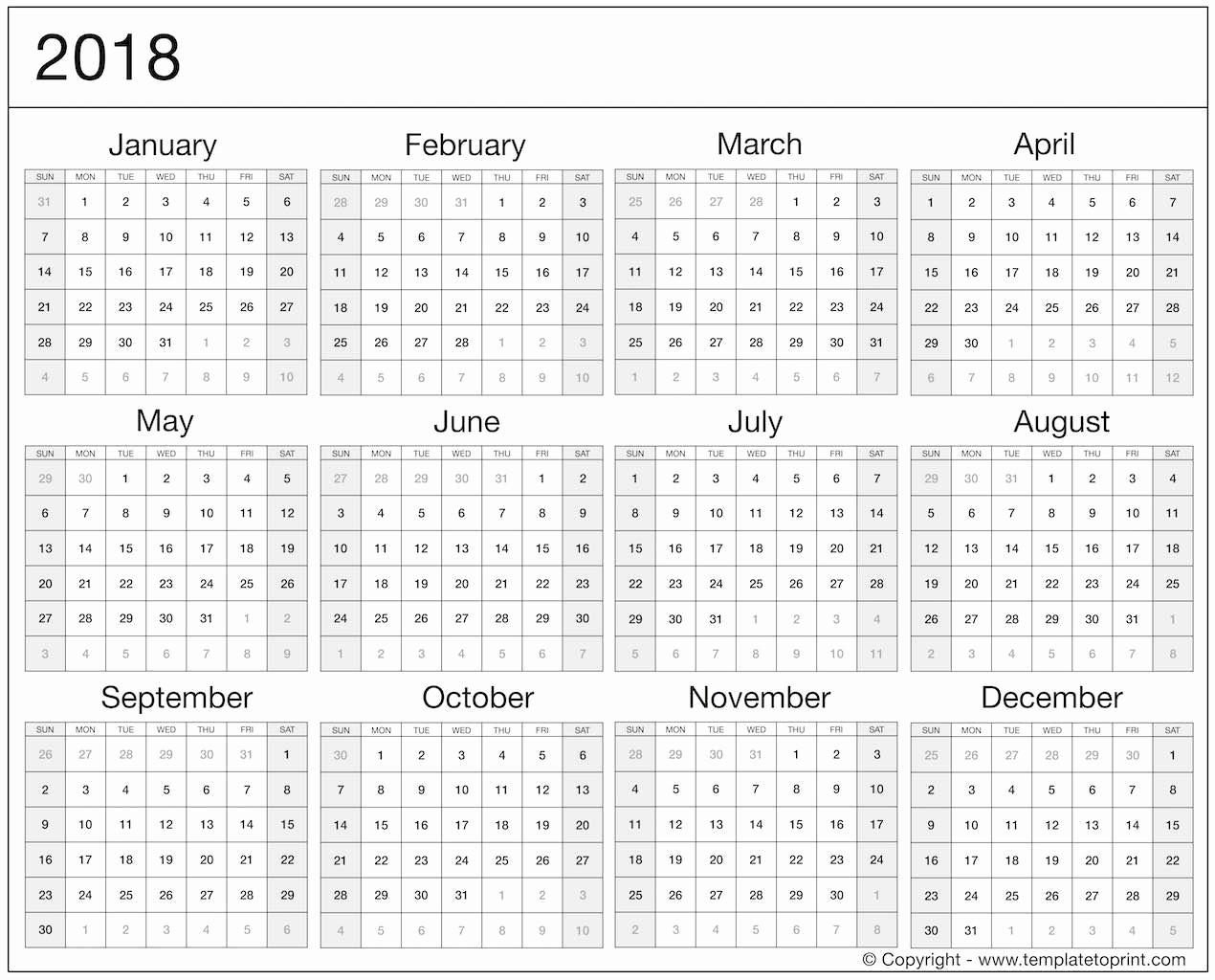 Calendar 2018 Printable with Holidays Unique 2018 Calendar Uk Printable