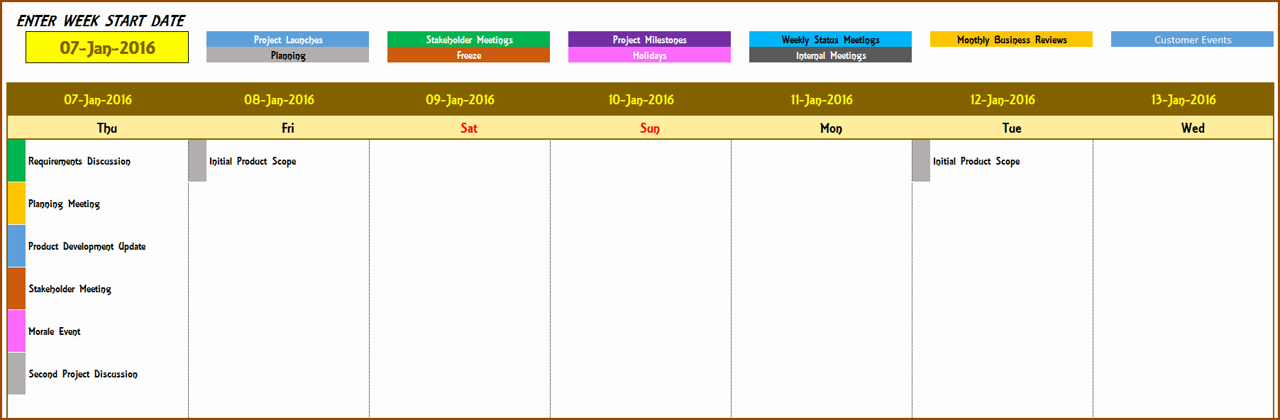 Calendar Of events Template 2015 Fresh event Calendar Maker Excel Template V3 Support