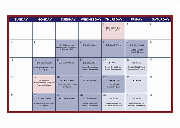 Calendar Of events Template 2015 Inspirational Planning Calendar Template 10 Download Free Documents