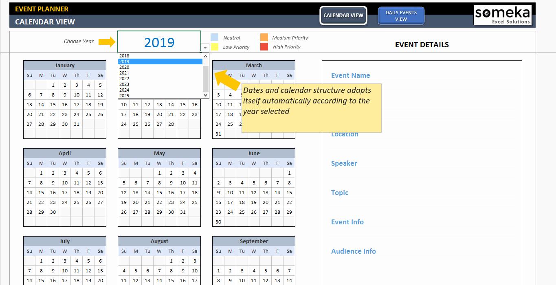 Calendar Of events Template 2015 Luxury Template for Calendar events 2018 Templates Collections