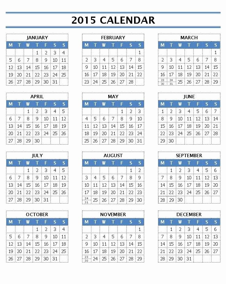 Calendar Of events Template 2015 Unique 2015 Calendar Templates