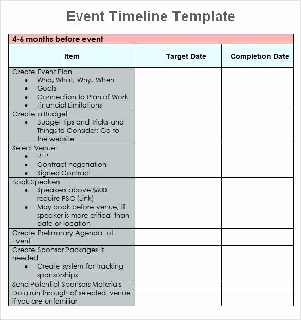 Calendar Of events Template Word Beautiful event Planning Template Excel Timeline Calendar Microsoft