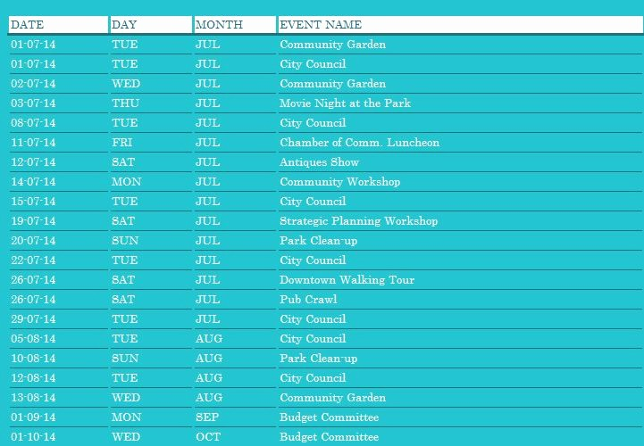 Calendar Of events Template Word New Monthly Munity event Planner Template