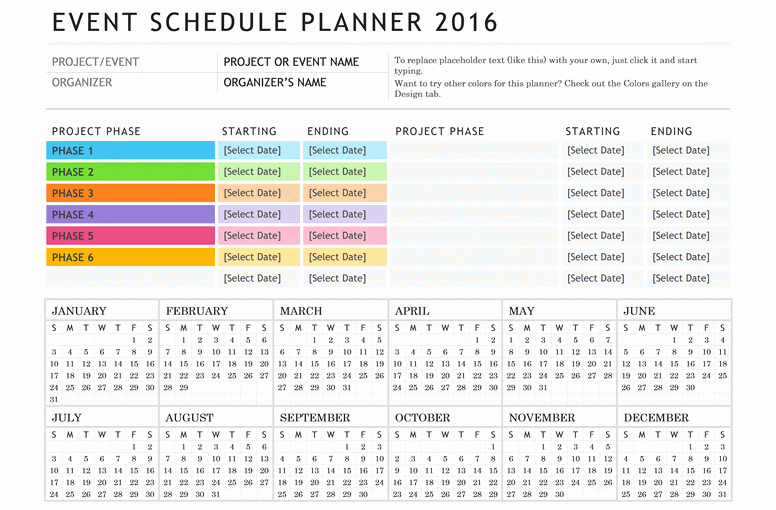 Calendar Of events Template Word Unique Free Calendar events Template Word – Free Template Design