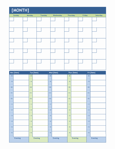 Calendar On Microsoft Word 2010 Inspirational Best S Of Weekly Agenda Template Microsoft Weekly