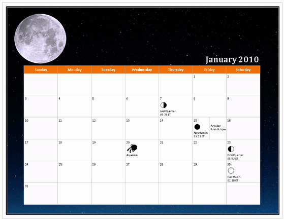 Calendar On Microsoft Word 2010 Luxury Download 2010 Calendar Templates for Microsoft Fice 2007