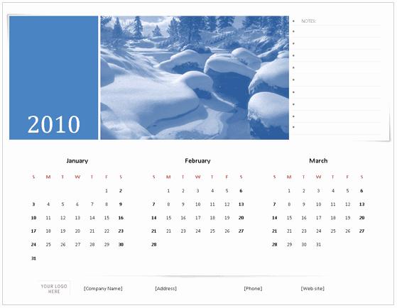 Calendar On Microsoft Word 2010 Luxury Download 2010 Calendar Templates for Microsoft Fice 2007