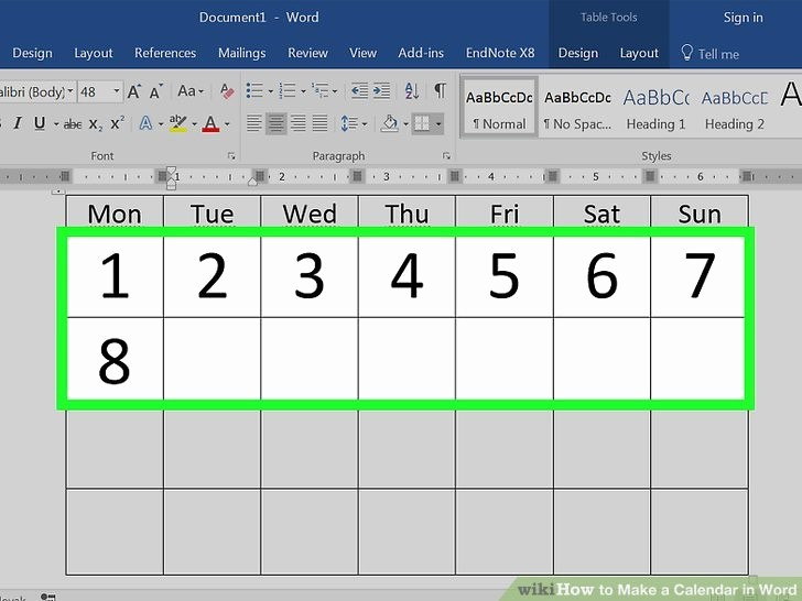 Calendar On Microsoft Word 2010 Unique How to Make A Weekly Calendar In Word 2010