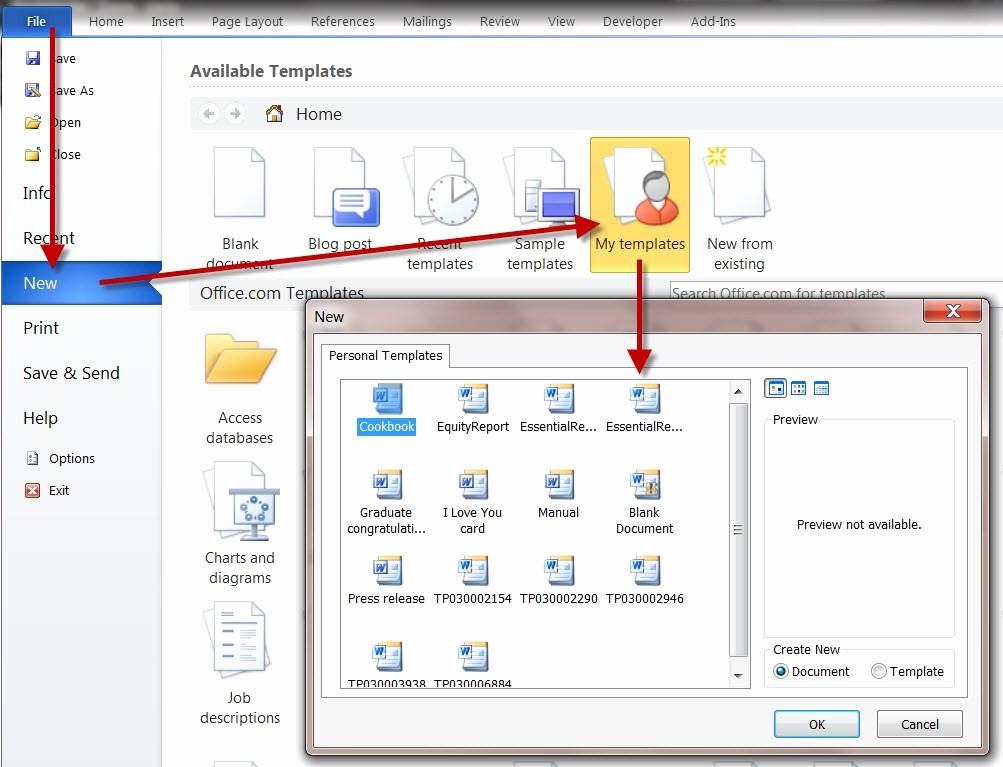 Calendar On Microsoft Word 2010 Unique Word 2010 Calendar Template