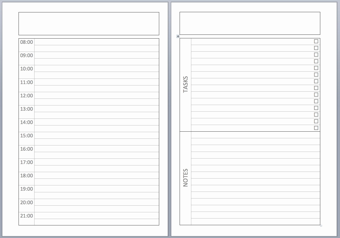 """Calendar One Day Per Page Luxury Search Results for """"1 Week Diary Template"""" – Calendar 2015"""