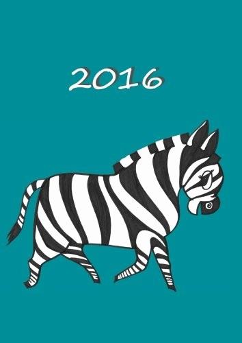 Calendar One Day Per Page Unique My Big Fat Calendar 2016 My Zebra 1 Day Per Page Din
