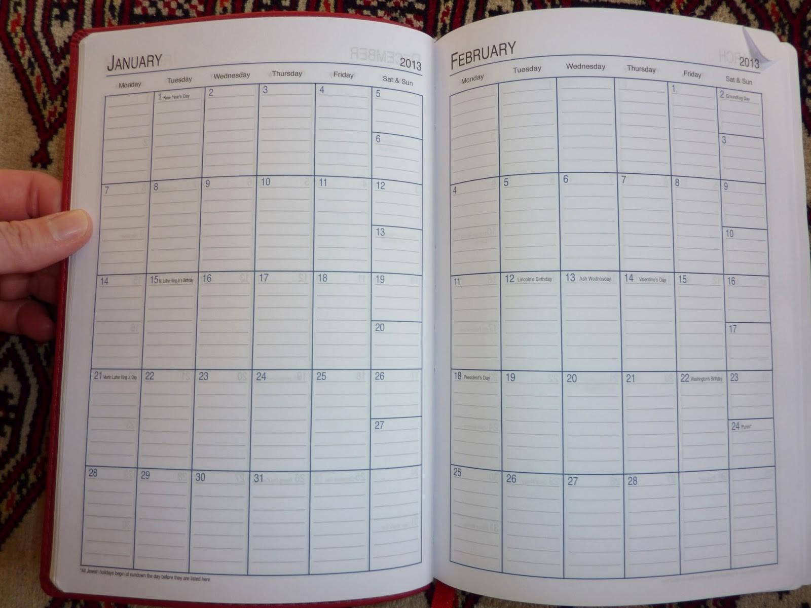 Calendar One Day Per Page Unique Plannerisms the Showdown Day Per Page Diary Vs Undated