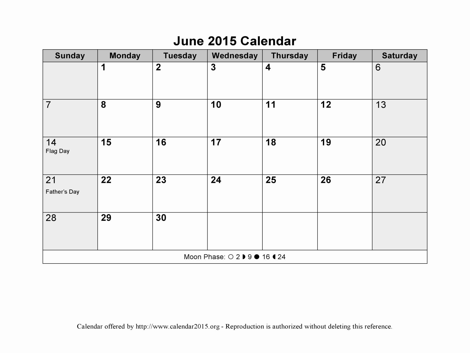 Calendar Template for June 2015 Inspirational Best S Of Microsoft Fice Templates Calendar 2016