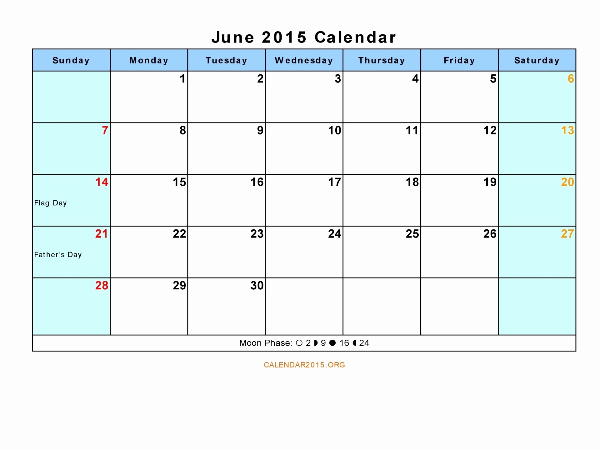 Calendar Template for June 2015 Inspirational June 2015 Driverlayer Search Engine