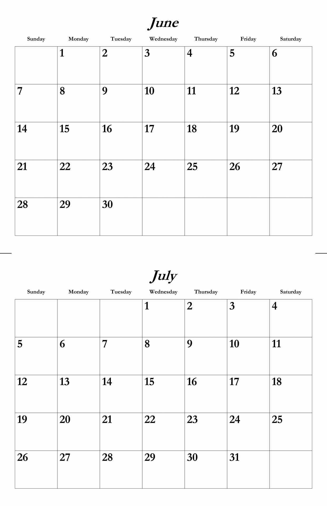 Calendar Template for June 2015 Inspirational June July 2015 Calendar Template Free Stock Public