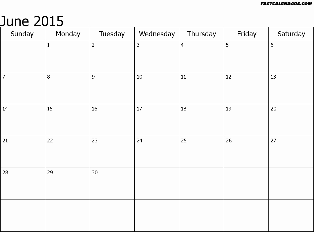 """Calendar Template for June 2015 Luxury Search Results for """"blank June Calendar"""" – Calendar 2015"""