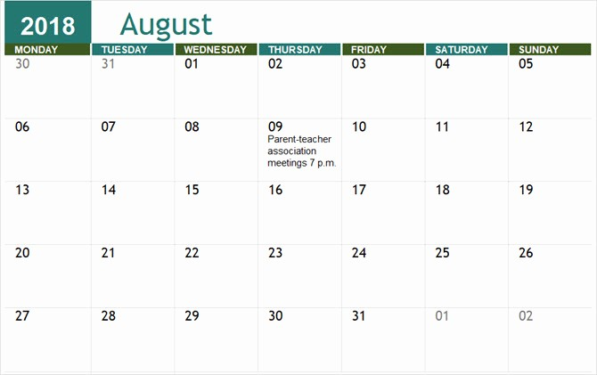 Calendar Templates for Microsoft Word Fresh the Best Free Microsoft Fice Calendar Templates for