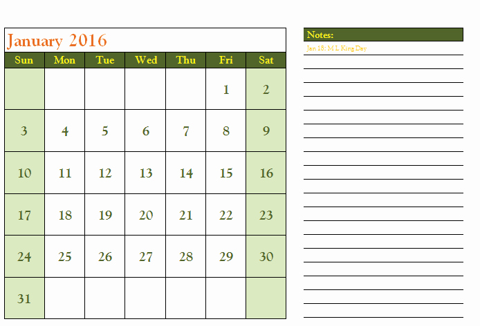 Calendar Templates for Microsoft Word Luxury 2016 Calendar Template Templates for Microsoft Word