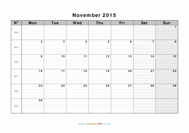 Calendar Templates for Microsoft Word New Microsoft Word 2015 Calendar Template