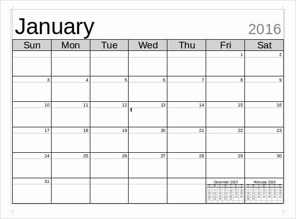 Calendar Templates for Microsoft Word Unique Microsoft Calendar Template 8 Download Free Documents In