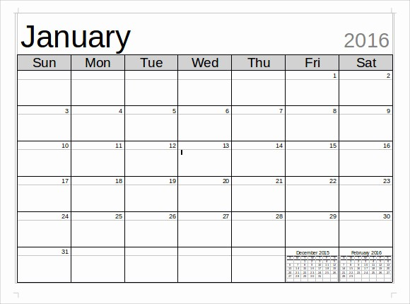 Calendar Templates for Ms Word Elegant Microsoft Calendar Template 8 Download Free Documents In