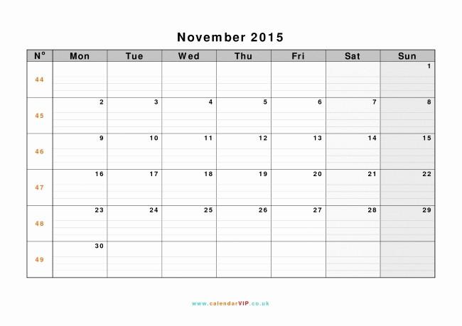 Calendar Templates for Ms Word Inspirational Microsoft Word 2015 Calendar Template
