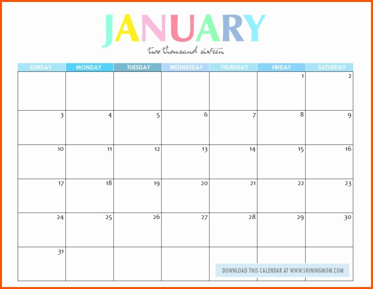 Calendar that I Can Edit Best Of Edit Printable Calendar January Calendar Editable Template