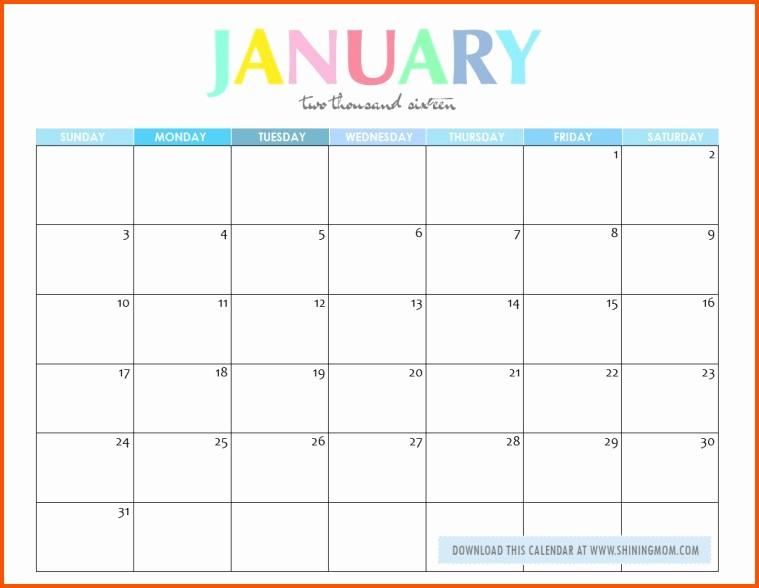 Calendar that I Can Edit Best Of Edit Printable Calendar January Calendar Editable Template