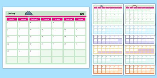 Calendar that I Can Edit Best Of Editable 2018 Calendar Editable Calendar Edit Year