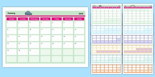 Calendar that I Can Edit Best Of Editable 2018 Calendar Editable Calendar Edit Year